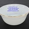 ถ้วยขนมเนื้อมุก ขนาด 4.5 นิ้ว -ลาย Pearl Design Dinner รหัสสินค้า 025-LD-P400