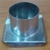 แท่นหล่อเทียนสเตนเลส รูปวงกลมใหญ่-สูง 5 ซม. รหัสสินค้า 016-C-03B Candle mold stainless circle 6.5 cm. 016-C-03B