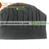 หมวกกุ๊ก (ผ้า) สีดำ 044-PK-P43