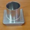 แท่นหล่อเทียนสเตนเลส รูปวงกลมกลาง-สูง 5 ซม. รหัสสินค้า 016-C-03 Candle mold stainless circle. 016-C-03