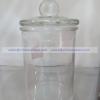 Jar D Glass Cover - โหลแก้ว เนื้อใส พร้อมฝาแก้วสูญญากาศ แบบมีจุกจับ JJG-D150