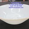 ชามกลมเนื้อมุก ขนาด 8 นิ้ว -ลาย Pearl Design Dinner รหัสสินค้า 025-LD-P208