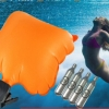 สายรัดข้อมือชูชีพป้องกันการจมน้ำ Puffer