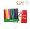 สีไม้Colleen 24สี/24แท่ง ยกกล่อง 6ชุด