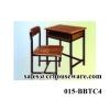 ชุดโต๊ะนักเรียน ไม้ (เหล็กเหลี่ยม),ม.ต้น ,ม.ปลาย 015-BBTC4