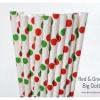 Single Pattern Paper Straws หลอดกระดาษ ใช้สำหรับดื่มน้ำ