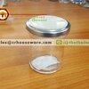 ขวดโหล ฝาเงิน 120 มล. รหัส : 005-J907 Glass bottle with silver lid 120 ml. Code : 005-J907