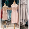 รหัส ชุดราตรี :PFS028 ชุดแซกผ้าลูกไม้งานสวยตกแต่งลูกไม้กริตเตอร์ ชุดราตรีสั้นหรูสีชมพู สวย สง่า ดูดีแบบเจ้าหญิง ใส่เป็นชุดไปงานแต่งงาน งานกาล่าดินเนอร์ งานเลี้ยง งานพรอม งานรับกระบี่