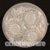 พิมพ์วุ้นลาย-ดอก 3 ดอก 016-WON-07 Jelly Flower Mold. 016-WON-07