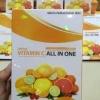 Spring Vitamin C All in One สปริง วิตามิน ซี ออล อิน วัน 1300 มก. บรรจุ 30 เม็ด วิตามินที่ละลายได้ในน้ำ ร่างกายไม่สามารถสร้างขึ้นเองได้ จึงจำเป็นต้องได้รับ จากการรับประทานเข้าไป วิตามินซีเป็นสารต้านอนุมูลอิสระในร่างกาย ช่วยให้ผิวขาวใส