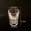 แก้วน้ำพลาสติกริมสระน้ำ Shot glass plastic Poolside. SAN-8865