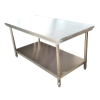 Stainless table 2 Tiers , โต๊ะสแตนเลส 2 ชั้น , 002-RW-2T70100 (SUS-304)