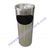 ถังขยะสแตนเลส 8 นิ้ว 001-UC157-8 Stainless Trash Bin With Ashtray.001-UC157-8stainless Trash Bin with Ashtray,Bin Thùng rác không gỉ với gạt tàn,Bin ກະຕ່າຂີ້ເຫຍື້ອແຕນເລ,ດທີ່ມີ Ashtray,