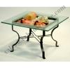 ชั้นโชว์อาหาร ผลไม้ พร้อมจานแก้ว S The show food and Fruit + dish glass. S 005-HR019-18S