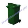 ถังขยะมีช่องทิ้งมีล้อ 240 ลิตร 001-M 240D Garbage pail wheel. 001-M 240D ถังขยะ 240 ลิตร