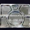 ถาดหลุมสแตนเลส-สี่เหลี่ยมกลาง (สินค้านำเข้า) SL-SM-1115