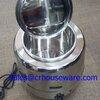 หม้ออุ่นซุปไฟฟ้า หม้อซุปสเตนเลส (ราคาประหยัด) Code:005-SB-901256