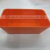 ถ้วยทรงสี่เหลี่ยม 3*5 นิ้ว สีส้ม 017-D989-5-3