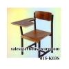 เก้าอี้แล็คเชอร์ ,เก้าอี้ทำข้อสอบ -ใต้โต๊ะมีขายึด 015-K03S