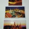 โปสการ์ดท่องเที่ยวไทย ชุด 3 ใบ 3 แบบ รูปวัดพระแก้วมรกต