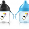 Philips AVENT My Penguin Sippy Cup, Blue, 9 Ounce (Pack of 2)