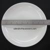 Round Plate -จานตื้นทรงใบบัว เกรด A ขนาด 8.5 นิ้ว 017-41D