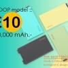 Eloop E10 - ขนาด 10000 mAh พร้อมส่ง ส่งฟรี EMS!!
