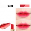 NOVO Double Color Lipstick Moisturizing Gradient Lipstick #03 In Love ลิปทูโทน เทรนด์ทาปากไล่สีแบบสาวเกาหลี ลิปสติกนวัตกรรมใหม่ที่ดีกว่าด้วย 2 สี และ 2 เนื้อสัมผัส ที่ไม่ใช่แค่จะทาริมฝีปากให้ดูมี มิติเพียงอย่างเดียว แต่ยังสามารถช่วยให้ริมฝีปากหนาและดูบางล
