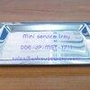 ถาดเสริฟสเตนเลส เล็ก Mini service tray. Code ; 006-JP-MST-1711