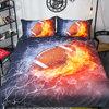 ชุดผ้าปูที่นอน 3 มิติ Fantastic 3D Sport