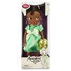 Animators' Collection Tiana Doll ตุ๊กตาเจ้าหญิงดิสนีย์ ตุ๊กตาแอนิเมเตอร์ เทียน่า จากการ์ตูนเรื่องเจ้าชายกบ The Princess and the Frog (รุ่น 3 มีตุ๊กตาที่ข้อมือ) ขนาดความสูง 16 นิ้ว สินค้านำเข้า Disney USA แท้ 100% ค่ะ