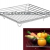 ตะกร้าใส่ผลไม้ ถาดสี่เหลี่ยมใส่ผักสแตนเลส Fruit basket vegetable rectangular tray. 075-ST-929