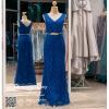 รหัส ชุดราตรี :PF088 ชุดราตรียาว สีน้าเงิน ดีเทลเพชรทั้งชุด สวยหรูสง่าดูดีมากๆ จะใส่ไปงานแต่งงาน งานเลี้ยง งานประกวด งานรับรางวัล งานกาล่าดินเนอร์ งานพรอม งานบายเนียร์ หรือเป็นชุดเพื่อนเจ้าสาว สวยหรู ดูดีสุดๆ