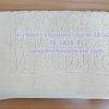 """ผ้าเช็ดเท้าลายหยดน้ำ สีทราย (หนา 8 ปอนด์) ขนาด 18""""x 28"""" Bath mat sandy color 8 lbs size 18'' * 28'' Code :TS-1828-85"""