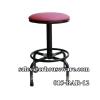 เก้าอี้บาร์ปรับระดับ(เตี้ย) ,ขาดำ 015-BAR-12 ,เก้าอี้กลมปรับได้ห้องปฏิบัติการอาหาร, Bar Stool_Thailand