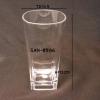 แก้วน้ำพลาสติกริมสระน้ำ,ทรงสี่เหลี่ยม Plastic Mug poolside Square. SAN-8506