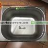 อ่างอาหารสแตนเลส 1/2 ลึก 10 ซม. Gastronorm Pan 040-GN-1204