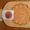 พิมพ์ขนมไหว้พระจันทร์-วงกลมพลาสติก ลายด้านในเป็นรูปหงส์ 016-KP-W4 Mooncake mold plastic,inside mold Swan. 016-KP-W4