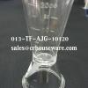 ถ้วยตวงเหล้าอะคริลิก ขนาดเล็ก รหัส 013-TF-AJG-10120 Acrylic jigger small size. Code : 013-TF-AJG-10120