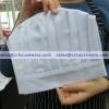 หมวกกุ๊ก (ผ้า) สีขาว 044-PK-P44