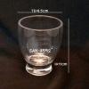 แก้วน้ำพลาสติกริมสระน้ำ Polycarbonate Beverage glass plastic Poolside.SAN-8592