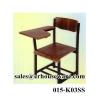 เก้าอี้แล็คเชอร์ ,เก้าอี้ทำข้อสอบ -ใต้โต๊ะมีชั้นวางของ 015-K03SS