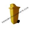 ถังขยะ 120 ลิตรมีล้อ มีช่องทิ้ง 001-M 120D Garbage pail wheel 120 Liter. 001-M 120D