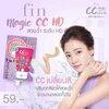 Fin CC Magic Cream Spf 50 Pa+++ ฟิน ซีซี ครีม แบบกล่อง มี 6 ซอง กันแดดเนื้อพรีเมี่ยม คิดค้นมาเพื่อผิวคนไทยที่ต้องเผชิญแสงแดดที่รุนแรงโดยเฉพาะ ด้วยเนื้อครีมที่เข้ากับทุกสีผิวได้อย่างกลมกลืนและเป็นธรรมชาติ ปกปิกเรียบเนียน ทาได้ทุกสีผิว(ผิวหน้าไม่เทา)
