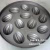 พิมพ์ขนมไข่อะลูมิเนียม ใหญ่ ขนาด 9 นิ้ว แบบที่ 4 ลายมะเฟือง มี 12 หลุม 016-KK-AL49 Khanom Khai aluminum mold 9 inch. Big size. อุปกรณ์ทำขนม