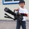 ปืนกลยิงลูกกระสุนน้ำ Gatlin Rotating Gun