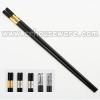 ตะเกียบเมลามีนสีดำปลายชุบทอง 006-TF-CS213 Melamine chopsticks black. (End of the shaft, gold plated.),),luxury chopsticks,ចង្កឹះប្រណីត,đũa sang trọng,豪华筷子,chopsticks luxury,