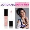 Jordana Sweet Cream Matte Liquid Lip Color 23 Buttercream Frosting คอลเล็คชั่นสวีทครีมแมทสีขายดีและสีใหม่ 6 สีจากจอร์ดาน่า ที่ได้รับแรงบันดาลใจมาจาก Belle from Beauty and The Beast ที่ไม่ใช่แค่สวย แต่สวยมาก เนื้อแมท ติดทน สีชัด มีส่วนผสมของ vitamin A & C