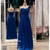 รหัส ชุดราตรียาว :PF082 ชุดแซก ชุดราตรียาว หรู สีน้ำเงิน ไหล่เฉียงประดับดอกไม้สวยๆ สวยเก๋มากๆ เหมาะสำหรับงานแต่งงาน งานกลางคืน กาล่าดินเนอร์