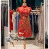รหัส ชุดกี่เพ้า :KPS051 ชุดกี่เพ้าพร้อมส่ง มีชุดกี่เพ้าคนอ้วน แบบสั้น สีแดง คัตติ้งเป๊ะมาก ใส่ออกงาน ไปงานแต่งงาน ใส่เป็นชุดพิธีกร ชุดเพื่อนเจ้าสาว ชุดถ่ายพรีเวดดิ้ง ชุดยกน้ำชา หรือ ใส่ ชุดกี่เพ้าแต่งงาน สวยมากๆ ค่ะ